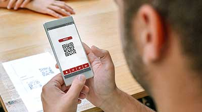 we tip web based form reporting text qr code